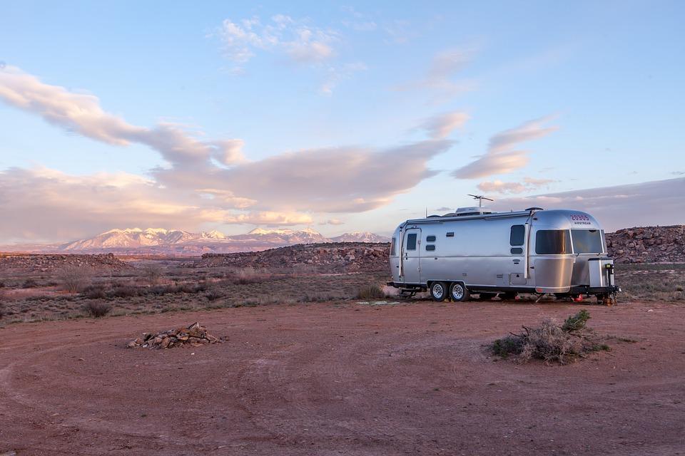 americký karavan