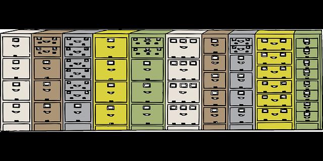 kovové skříňky