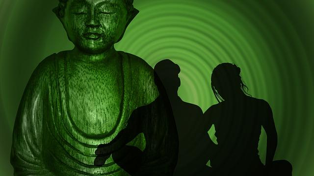 siluety u Buddhy
