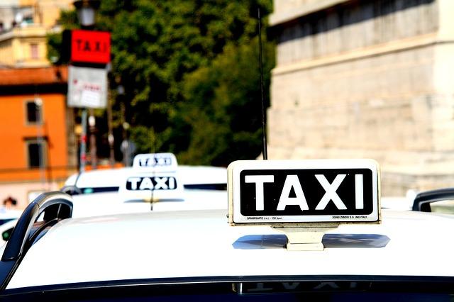 parkoviště pro taxi