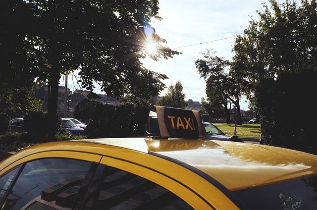 střecha taxi