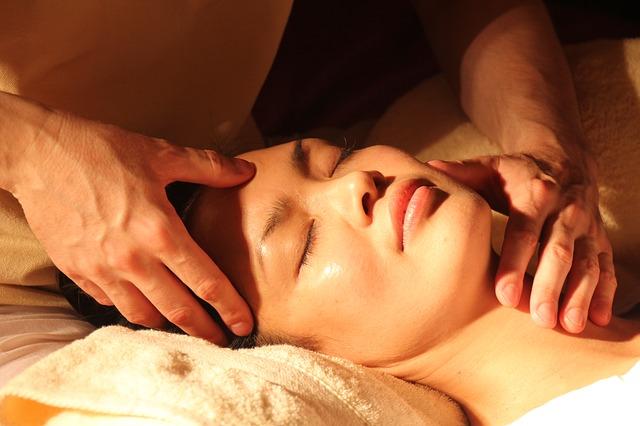 masáž čela