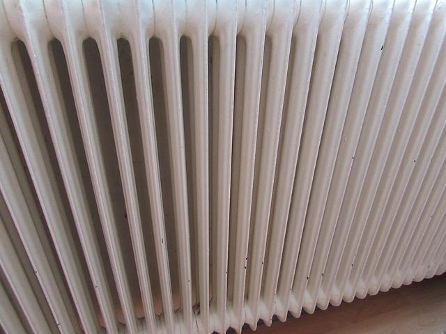 starý radiátor