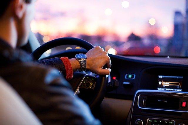 auto řidič