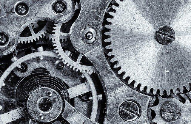 kolečková zařízení u stroje